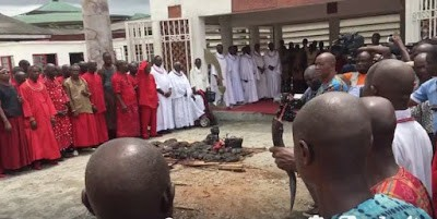 Oba of Benin summons native doctors over human trafficking, kidnapping