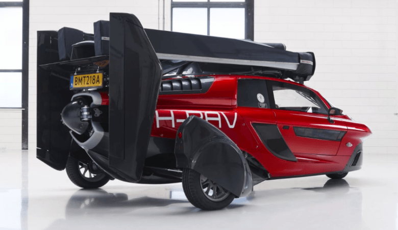 This Car can Fly in Traffic –  world's first (actual) flying cost $399,000/$599,000