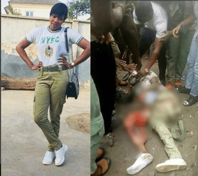 So Sad Lagos Corps Member Feared Dead After Ikeja Train Accident – Graphic Photo