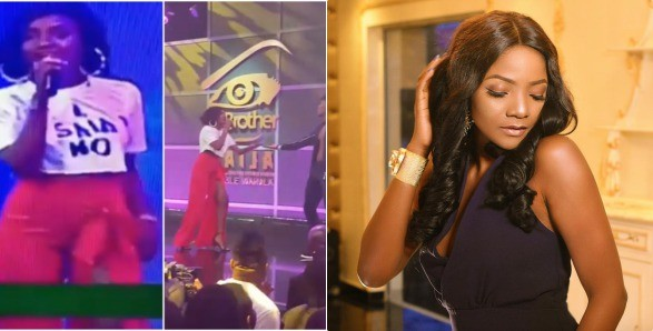 #BBNaija – Nigerians slam Simi for her outfit to eviction show