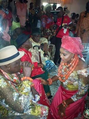 Ibori Weds Younger Bride -Photos