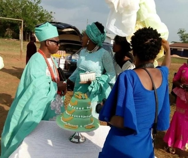 #BBNaija: TBoss' father marries younger wife in Edo