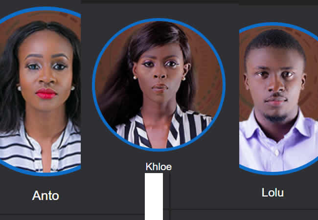 Anto, Khloe, Lolu leave BBNaija in final eviction show