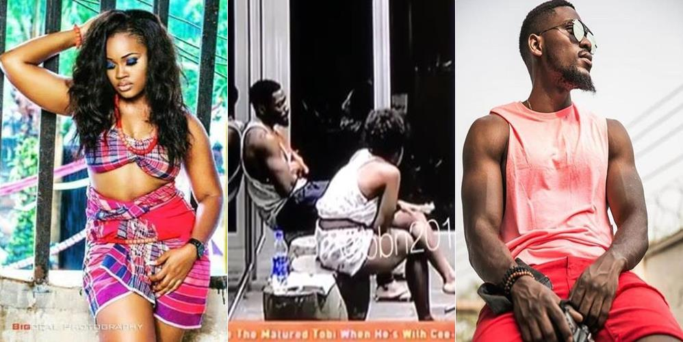 #BBNiaja 2018:- Cee-C Gets Emotional, Alex Makes Tobi Talk With Her And Resolve Their Differences