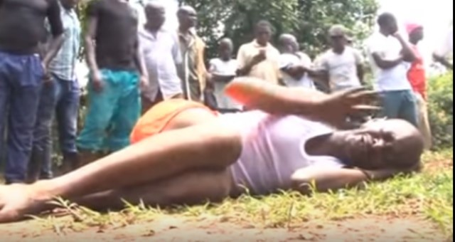 Busia houseboy oozes maggots from private parts after sleeping with employer's wife (photos)