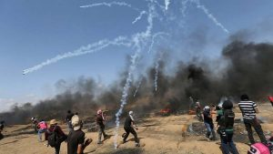 Israel, Gaza exchange fire after Palestinian woman killed at border