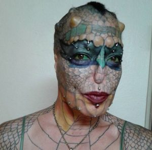 Trans-Species Woman Spends £40,000 To Turn Herself Into A Dragon