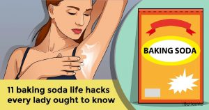 11 baking soda life hacks every lady ought to know