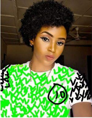 Social Media Erupts As Nigerian Lady Rocks 'Fake' Super Eagles Jersey (Photo)