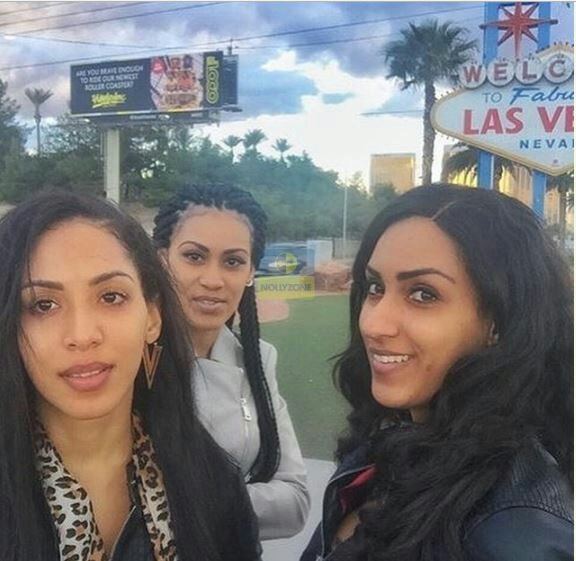 Lovely Photos Of Juliet Ibrahim And Her Siblings