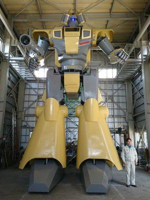 Japanese Engineer Builds A 28-Foot Tall Transformer Humanoid Robot