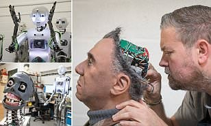 Inside the lab where British engineers are creating creepy humanoid robots that can hold a conversation (and even DANCE!)