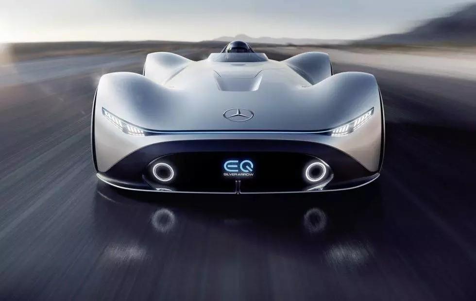 Mobility with Attitude (MWA) – Mercedes-Benz EQ Silver Arrow concept puts 738hp in single-seat EV
