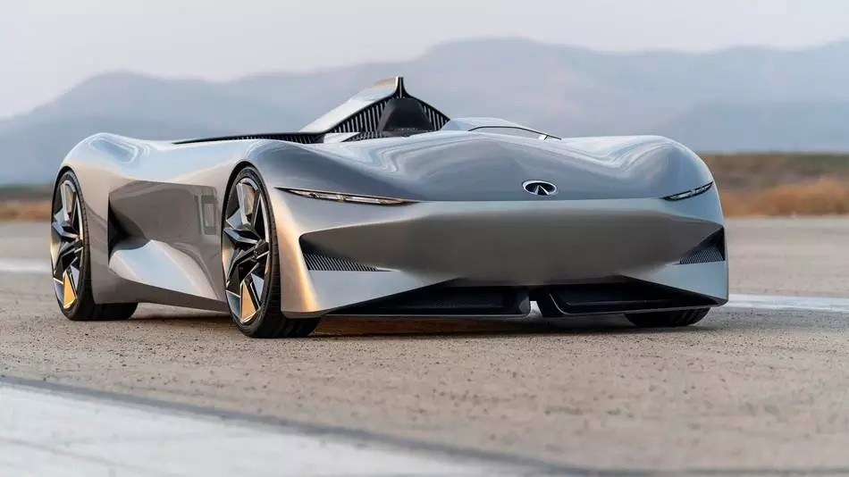 Mobility with Attitude (MWA) – Infiniti's concept speedster is an iconic race car with an electric twist