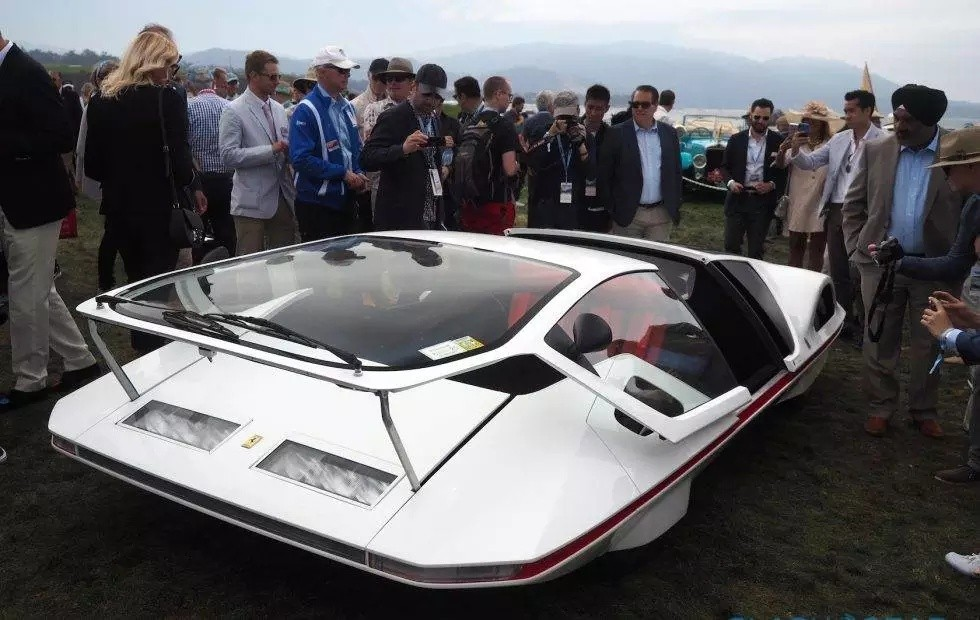 Mobility with Attitude (MWA) – The Ferrari 512S Modulo is a spaceship-like slice of automotive legend