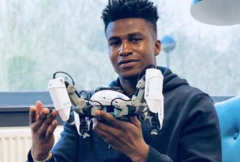 26-year-old Nigerian highest paid robotics engineer in the world