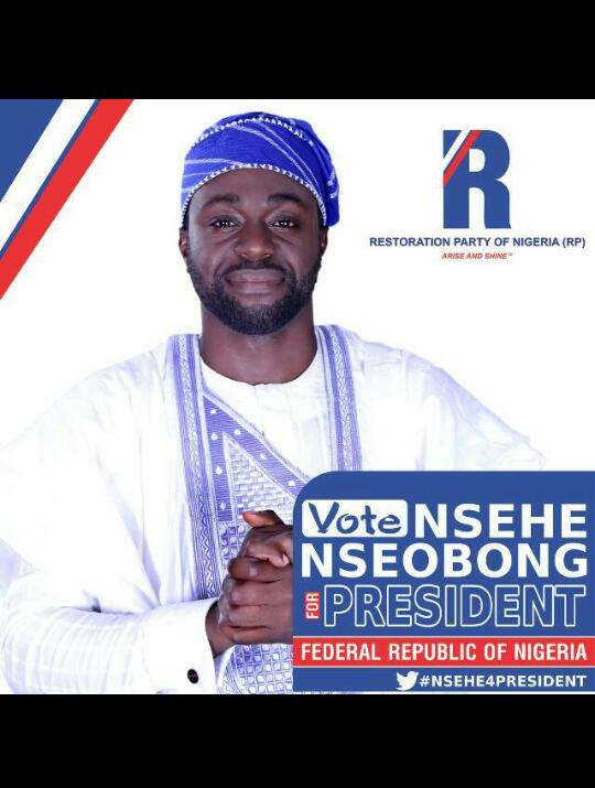 Restoration Party of Nigeria (RP) Picks Nsehe Nseobong as Presidential Candidate – VIDEO