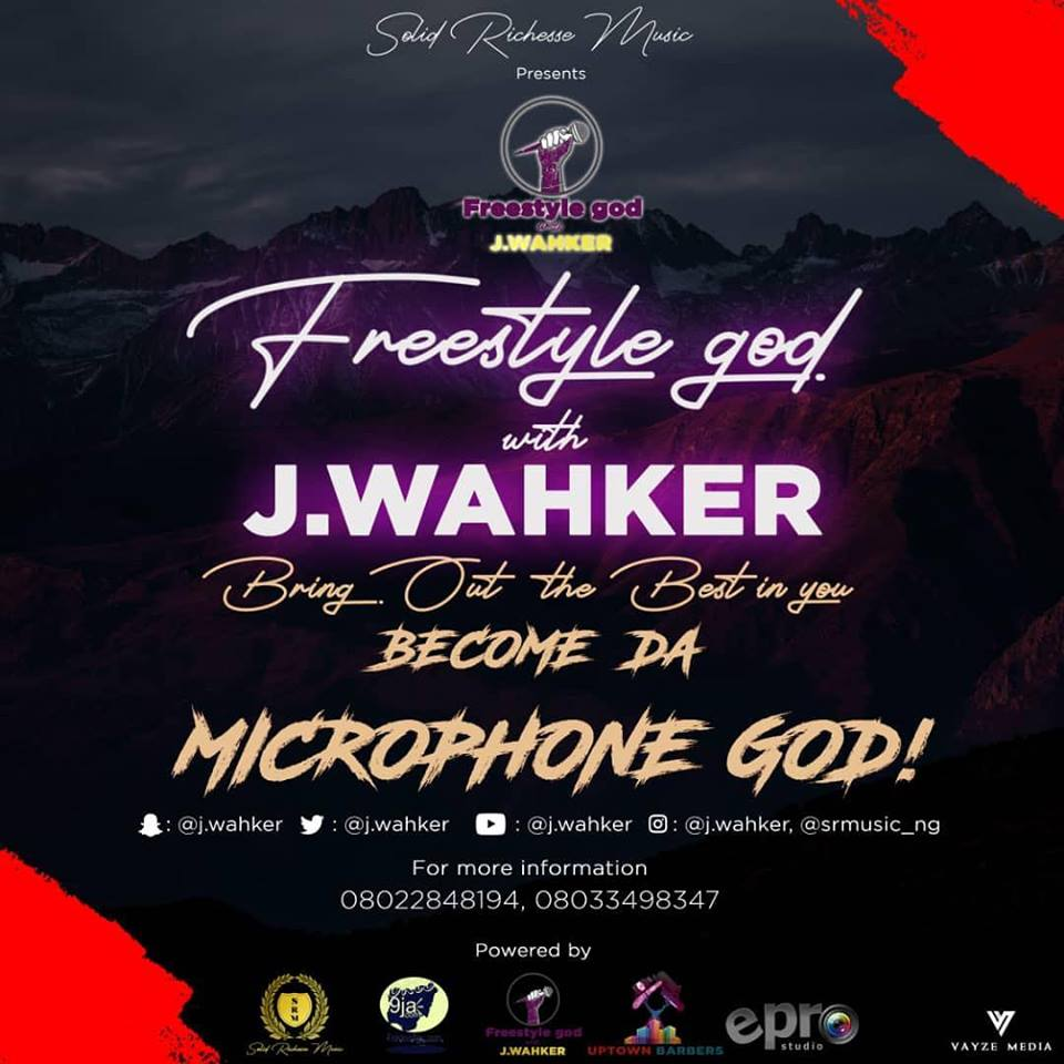 Freestyle god with J. Wahker Battle Begins – become the Microphone god!