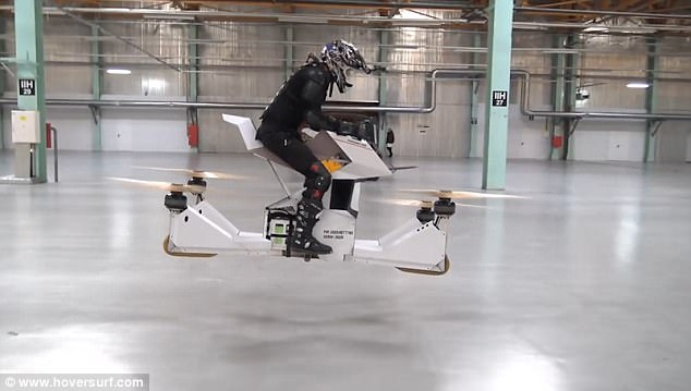 Scorpion 3 World's First Hover/Flying Bike Prototype Released (Photos, Video)