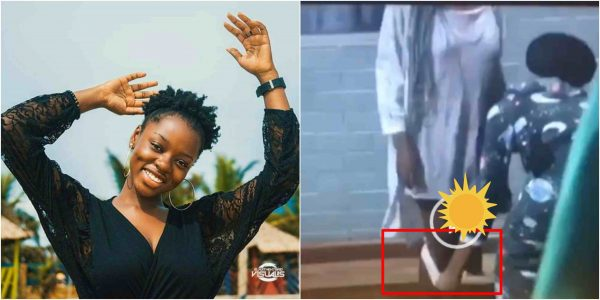 #BBNaija2019: Desperate Diane removes her pant before other housemates