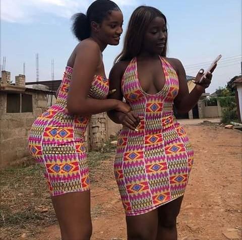 Photo of Nigeria Brown Skin Girls Slaying in Ankara Melts Down Instagram