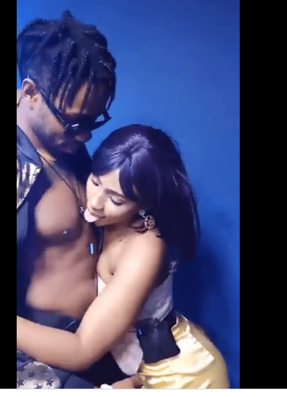 #BBNaija2019: Mercy & Ike Caught in Hot Night Romance