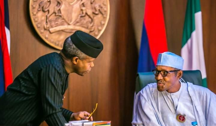 Why We're Streamlining the Number of Staff in Osinbajo's Office – Buhari