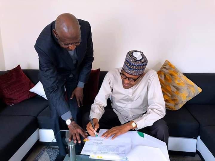 Buhari Assents to London Bill Amending Deep Offshore