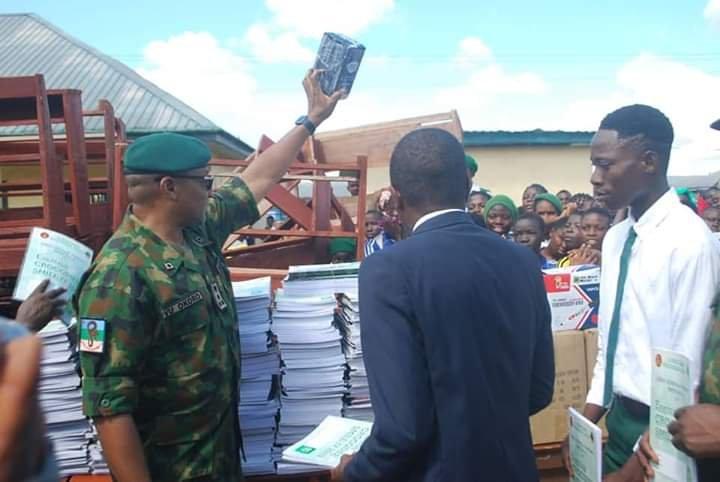 Military Donates Educational Materials & Teachers to Bayelsa Public Schools