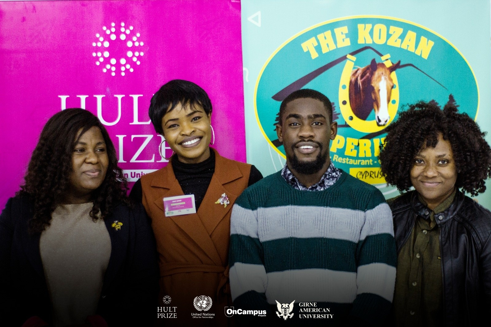 Girne American University Students Participate in HULT prize 2020 OnCampus Program.