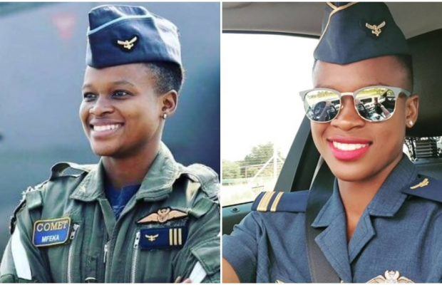 The World's first Black African female fighter pilot is from South Africa