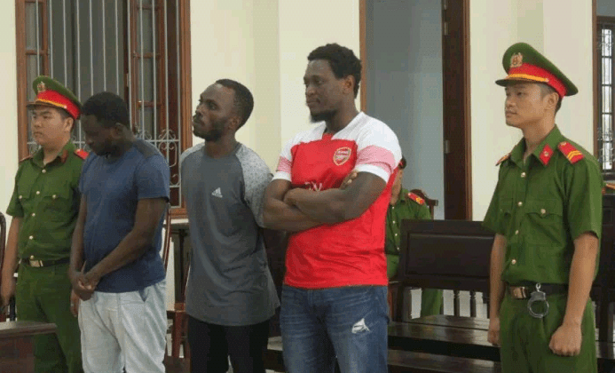 Vietnam court sentences Nigerian man, two Cameroonians to prison for conning Vietnamese women out of $65,000