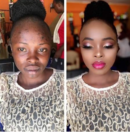 Police are Searching for the Makeup Artist Who Did This