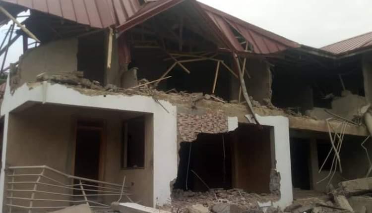 Ghana Demolished Nigeria High Commission In ACCRA!