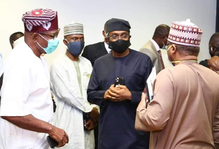 Gbajabiamila Moves to Prevent Doctor's Strike, Meets with Ehanire, Mamora, Akabueze and Others