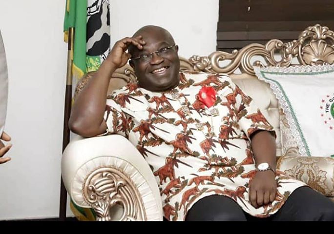 Jubilation in Abia State As Governor Okezie Ikpeazu's  COVID-19 Test Returns Negative