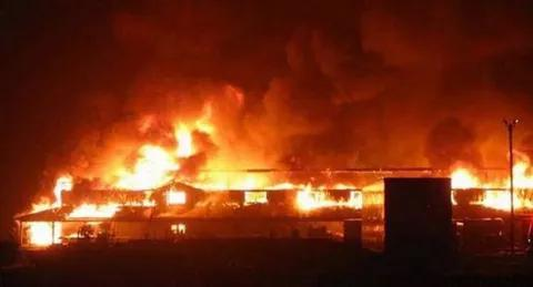 Just In: Popular Lagos Market is On Fire!