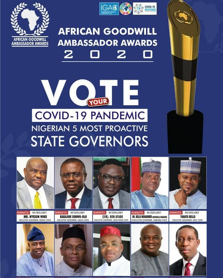 African Goodwill Ambassador Awards 2020 – Meet Your Nominees