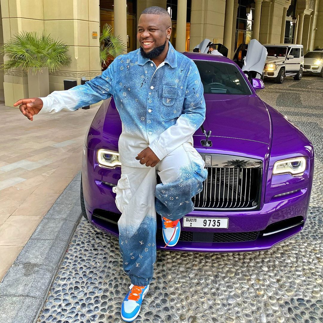 "Lady Showers Praises On Hushpuppi ""I Pray To Have a Son Like You"""