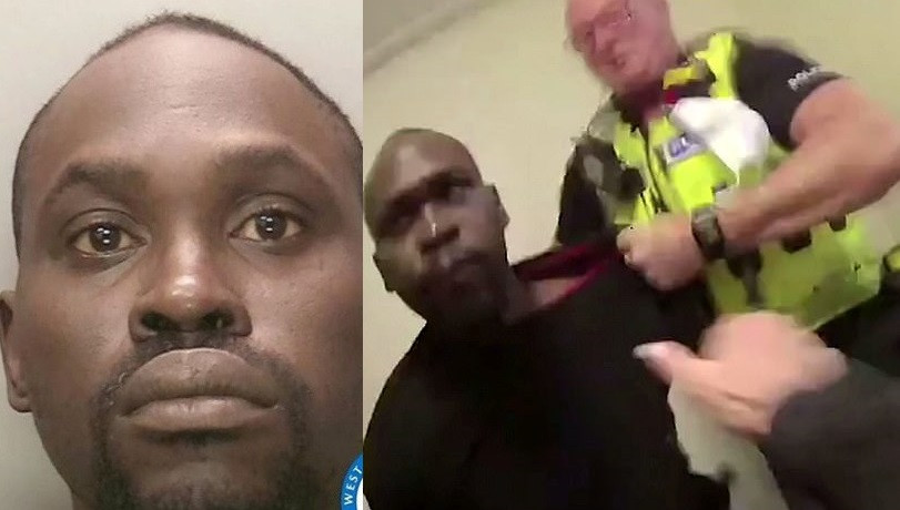 Nigerian Man Who Spat Blood Into Policewoman's Eyes During Arrest In UK, Has Been Jailed For Eight Months
