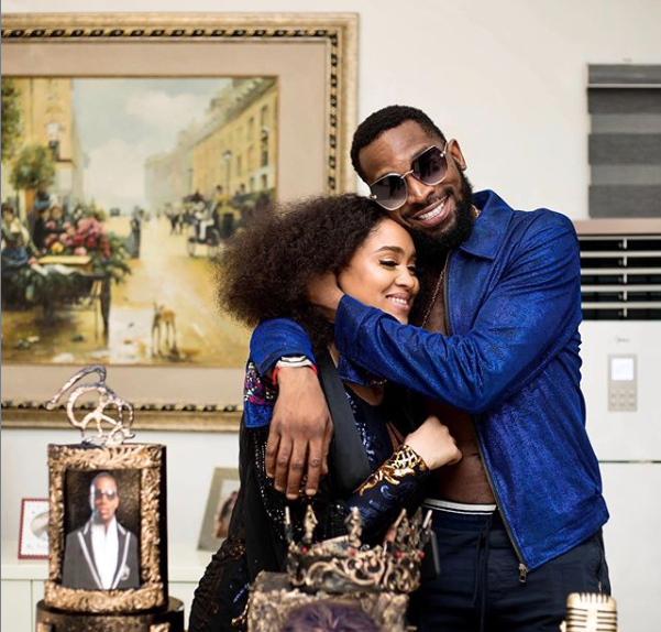 D'banj And His Wife, Didi Lineo Celebrate Their 4th  Wedding Anniversary