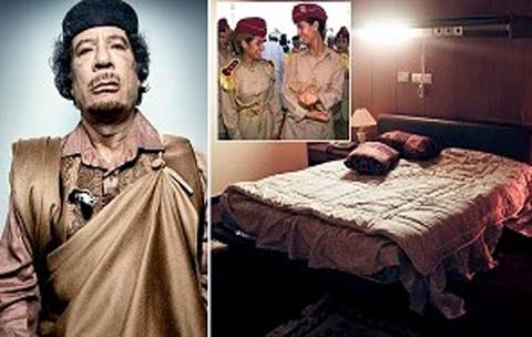 GADDAFI S8X SCANDAL – How Late Libyan Leader Allegedly Abused Young Girls