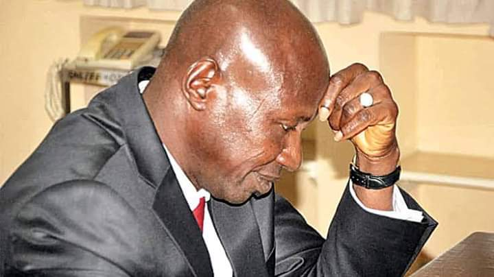 Dino Melaye Rejoices AS the  Fate of Embattled EFCC Acting Chairman Ibrahim Magu Hangs in Balance