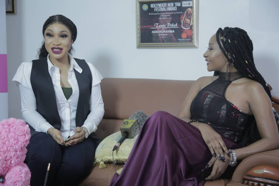 I Almost Became A Pastor – Tonto Dikeh Tells Rachel the Piper During Exclusive  Interview