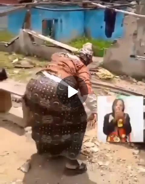 VIDEO: 80 Years Old Grandma Shakes to Naira Marley Song Tesumole