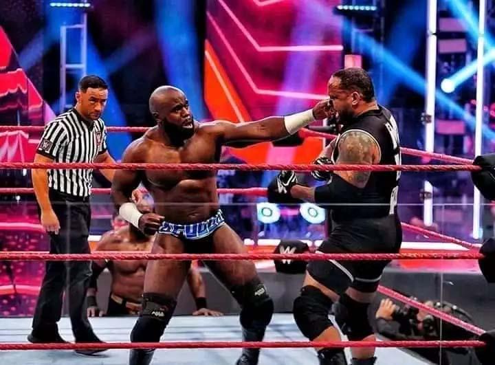 Nigerian Wrestler Apollo Crews Beats Bobby Lashley to Announce His WWE Comeback