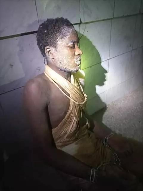 22-Year-Old Man Found Dumped Behind A Mosque In Abuja With His Legs And Hands Chained
