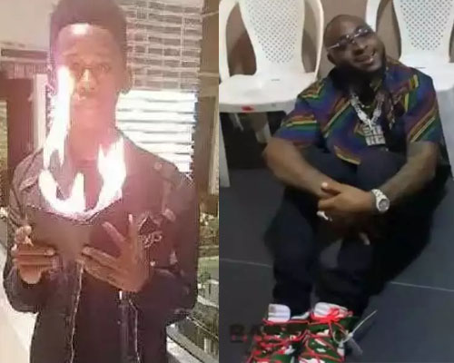 Meet the 19-year-old Magician Who Made Davido Seat on the Floor – Babs Cardini ( VIDEO)