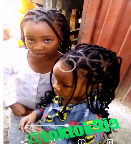 You Won't Believe What These Two Cute Little Girls Were Caught Doing in the Market