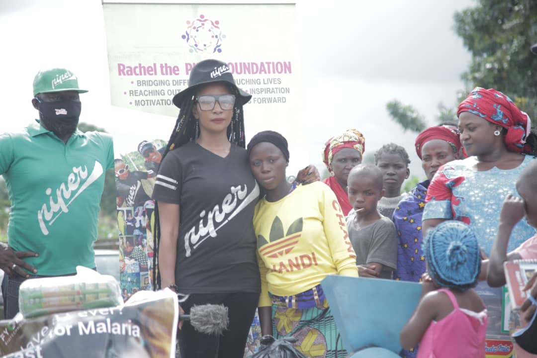 "Highlights From Rachel the Piper's Foundation Outreach Tagged ""Southern Kaduna Lives Matters"""